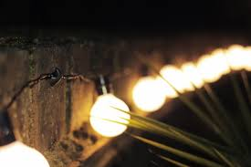 Patio String Lighting by An Easy Way To Hang String Lights Outside Youtube