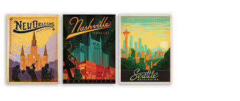 Tennessee travel posters images Anderson design group jpg