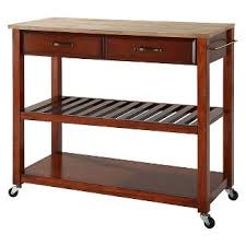 cherry kitchen island cart cherry kitchen island target
