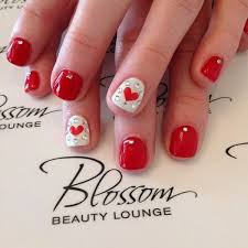 lovely nail designs to try for valentine u0027s day