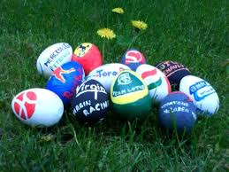sports easter eggs eggcellent f1 painted easter eggs