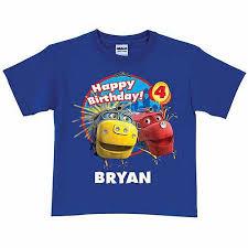personalized chuggington brewster wilson birthday toddler boy