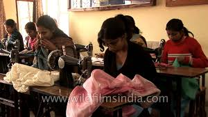dress designing and tailoring courses for children of scavengers