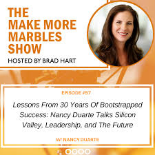 Seeking Kyle Episode Lessons From 30 Years Of Bootstrapped Success Nancy Duarte Talks