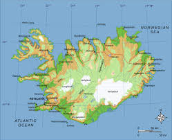 Physical Europe Map by Maps Of Iceland Detailed Map Of Iceland In English Tourist Map