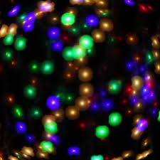 abstract bokeh greeting background decoration of blinking