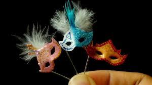 miniature mardi gras masks miniature masquerade mask tutorial