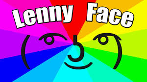 Meme Text Faces - what is the meaning of lenny face the origin of the le lenny face