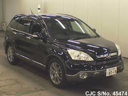 used cars honda crv 2008 2008 honda crv black for sale stock no 45474 japanese used