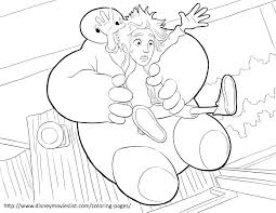 disney u0027s big hero 6 coloring pages sheet free disney printable