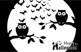 scary halloween cutouts clipart happy halloween stencil