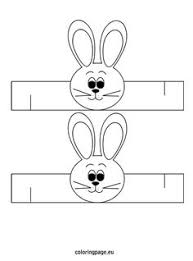 easter bunny template printable looking for a recycled basket to