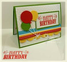 stampin u0027 up u0027s you u0027re amazing to make an easy birthday card