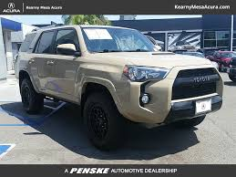 suv toyota 4runner pre owned 2016 toyota 4runner 4wd 4dr v6 trd pro suv in san diego
