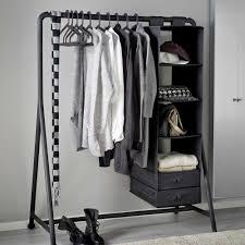 ikea 501 772 42 turbo clothes rack indoor outdoor black