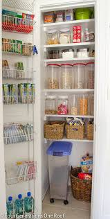 our organized kitchen pantry closet reveal four generations