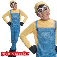 despicable me halloween costumes despicable me fancy dress minion costume bob kevin dave