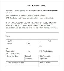 patient incident report form template incident report template 32 free word pdf format