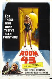 poster for room 43 aka passport to shame 1958 uk wrong side
