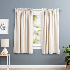 Textured Cotton Tie Top Drape by Shop Amazon Com Curtains
