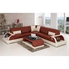 vente de canape canapé d angle design en cuir bolzano l pop design fr