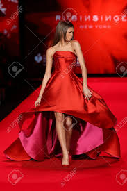 ny dress new york ny february 12 zendaya walks the runway at the go