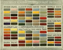 historic bungalow colors vintage palette 1910 to 1920 bungalow