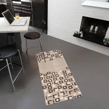 tapis cuisine original tapis lavable en machine living mats pratique tapis chic le