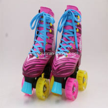 roller skates with flashing lights the traditional double roller skates