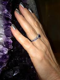 sapphire and wedding band thin is in when it comes to or sapphire wedding bands