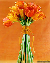 Tulip Bouquets Tulip Wedding Bouquets Martha Stewart Weddings