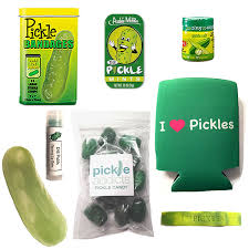 pickle candy pickle gift pack 8pc set pickle bandages lip