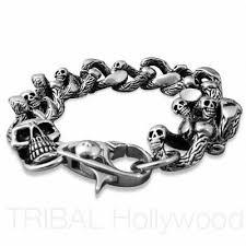 stainless bracelet images Stainless steel bracelets for men tribal hollywood jpg