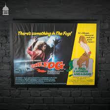 original u0027the fog u0027 movie quad split poster with u0027a man a woman