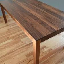 Walnut Dining Room Furniture Custom Made Solid Walnut Dining Table Home Dining Table Chairs