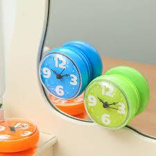 kitchen fridge waterproof clocks shower clocks mini wall clock