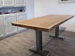 pied table cuisine plan de travail cuisine avec pied cheap pied de plan de travail