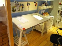 Desk With Drafting Table Design Of Ikea Drafting Table Art Studio Pinterest Drafting Tables