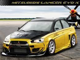evo mitsubishi 2010 mitsubishi lancer evo x yellow by intro92 on deviantart