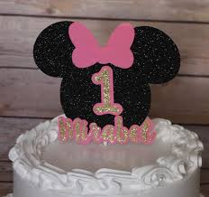 minnie mouse baby shower cakes topper party xyz