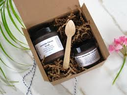 spa gift sets spa gift set scrub mask beatnik naturals