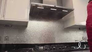 Kitchen Splashbacks Silver