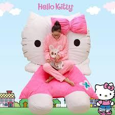 Hello Kitty Toddler Sofa 2017 Creative Hello Kitty Sofa 3d Bedding Sets Beanbag Hello Kitty
