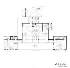 frank lloyd wright floor plan prairie sun lindal cedar homes