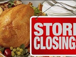 here are some stores that will be closed on thanksgiving 9news