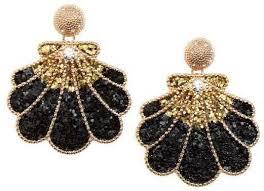 hm earrings h m shell shaped earrings earrings popsugar fashion photo 13