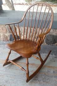 Rocking Chair Makers Buy Hand Made Rocking Chair Continuous Arm Rocker Bamboo Turnings