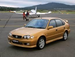 Toyota Corolla 2001 S Toyota Corolla Sportivo 5 Door U00271999 U20132001