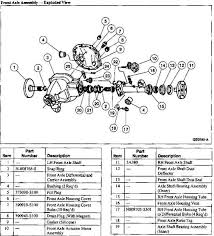 1998 f150 diagram of rear differential 100 images 1998 ford