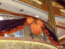 Cruise Decorations Trip Report Disney Cruise Line U0027s Halloween On The High Seas A